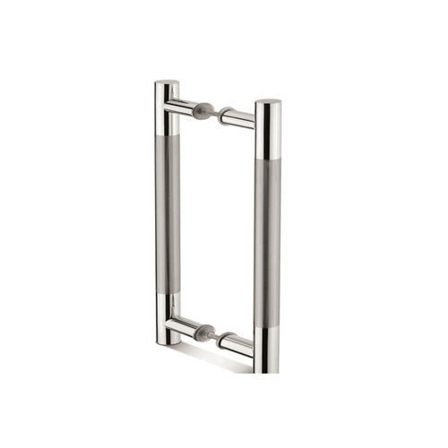 Stainless Steel H Glass Door Pull Handle Rs 450 Set Paras