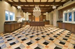 Blocked Italian Marble Flooring Service