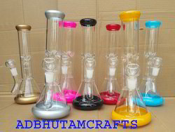 12 Fancy Color Glass Bongs