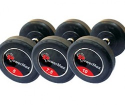 Powermax  Fitness 10Kg Pair Hex Dumbbells (10Kg X 2Pcs)
