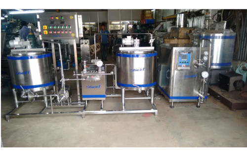 Mini Milk Plant Capacity 100 Lph Rs 950000 Unit Smart