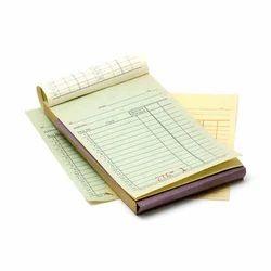 Bill Book Printing Service