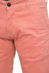 Cotton Slim Fit Mens Trousers, Size: 30-36