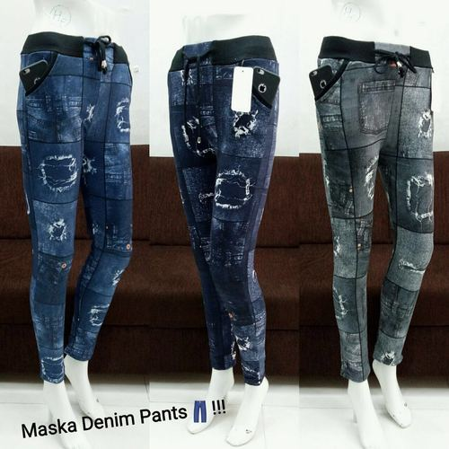 various colors fine quality new product Women Denim Pants Hmwdp