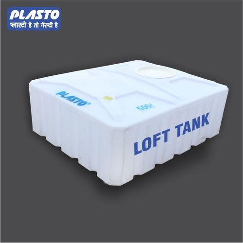Plasto Plastic Rectangular Loft Tank Capacity 1000 Liter Rs 6 6 Litre Id 19068812148