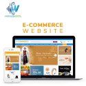 E Commerce Website Designing Service, With Chat Support