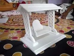 Indoor Square Marble Jhula, For Decoration, Size: 12x10nc