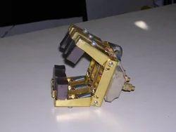 Brass, Gun Metal Ngef Brush Holder, Usage: Electric Motor, Shaft Grounding, Slip Ring Applications