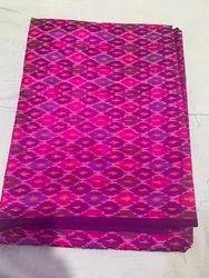 Ikkat Pure Silk Fabric, GSM: 100-150 GSM