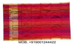 Silk Plain Banarasi Zari Multicolor Pheta