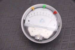 Aerosense Model ASGC-20 INCH Differential Pressure Gauge Range 10-0-10 Inch