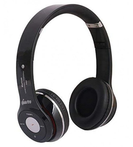 99963572a92 SH-12 Wireless/ Bluetooth Headphone With FM And SD Card Slot with Music and