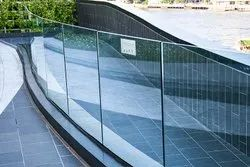 12 mm Toughened Glass Work