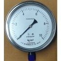 Stainless Steel Direct Mount Bottom Entry Pressure Gauge