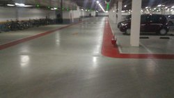 PU Car Parking Flooring Service