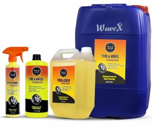 Wavex Tyre and Wheel Foaming Cleaner