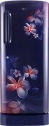 LG 235 L 5 Star Direct Cool Single Door Refrigerator (GL-D241ABPY, Blue Plumeria)