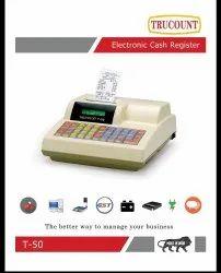 Semi-Automatic Electronic Cash Register- TRUCOUNT T50