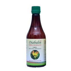 DIABALIN Herbal Insulin Juice, Packaging Type: Bottle