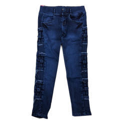Ladies Stretchable Denim Jeans, Size: 26-32