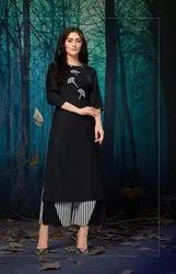 Pr Fashion Launched Beautiful Designer Readymade Pair Or Palazzo And Kurti