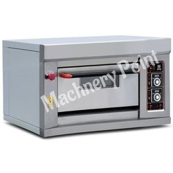 One Deck One Tray Gas Deck Oven