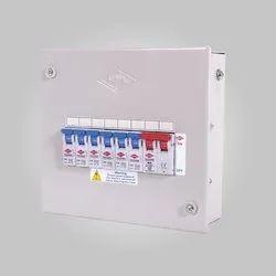 Mild Steel HPL Techno Range Single Door Distribution System