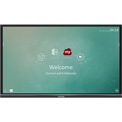 ViewSonic Black Interactive Flat Panel, Model Name/Number: IFP6550-2, Size/Dimension: 65