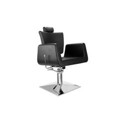 8168 Black Salon Chair