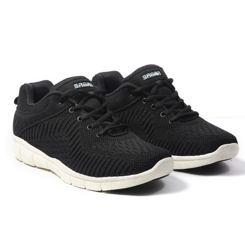 5760df32d6e Sagma Sports Sagma Men Black Breathable Running Shoes, Size: 10   ID ...