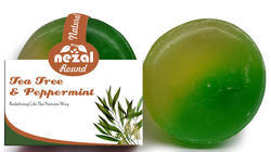 Round Tea Tree & Peppermint Handmade Soap