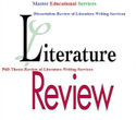 PhD Thesis Review of Literature Writing Services