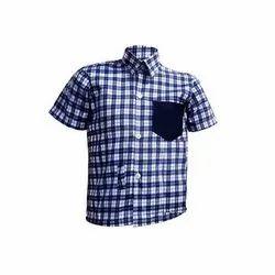School Uniform Check Shirt