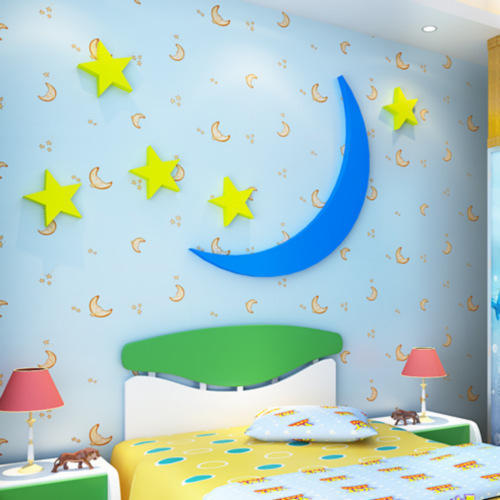 Captivating Kids Room Wallpaper, Shape: Vertical