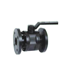 HDPE Ball Valve Flanged End
