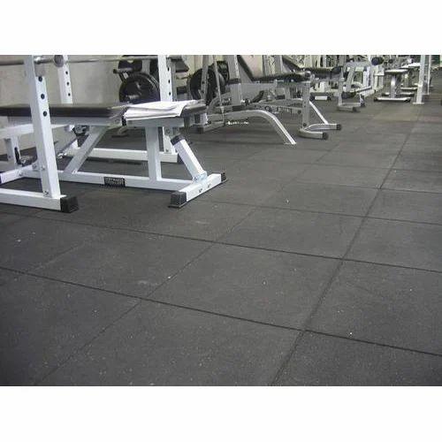 Swastik gym flooring rubber tile 5 10 mm rs 60 square feet id swastik gym flooring rubber tile 5 10 mm tyukafo