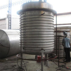 Sugar Syrup Tank With Hot Water Spiral