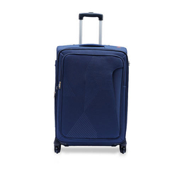 Blue Polyester Water Proof Trolley Bag, Size: 22 Inch