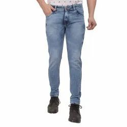 Skupar Cloud/Towel Wash Faded Slim Fit Men Denim Jeans