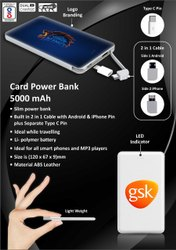 Card Power Bank 5000 mAh