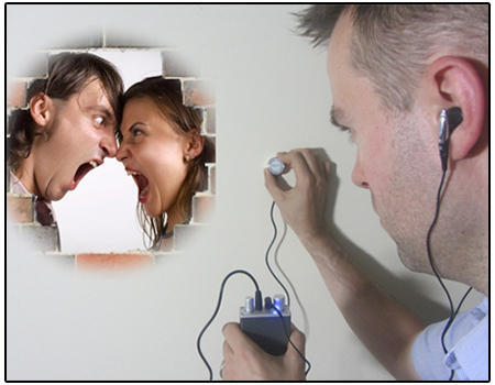 Image result for amplifying conversation so others can hear
