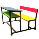 School Kids Desk Bench