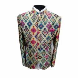 Printed Jodhpuri Coat