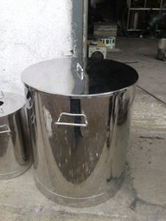 Shreshtha 50L Stainless Steel Container
