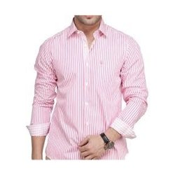 Stripes Pure Cotton Mens Cotton Shirt