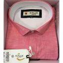 B Plus Cotton Pink Formal Shirt