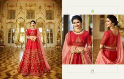 Vinay Princess-4 Series 20041-20048 Stylish Party Wear Silk Lehenga