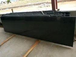 G20 Black Granite Slabs, For Flooring, Thickness: 15-20 mm