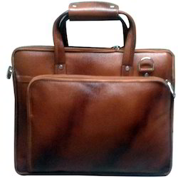 Brown Gents Leather Bag