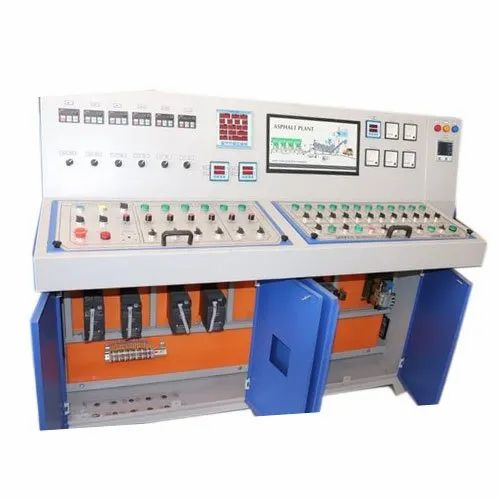 Three Phase Hot Mix Plant Control Panel